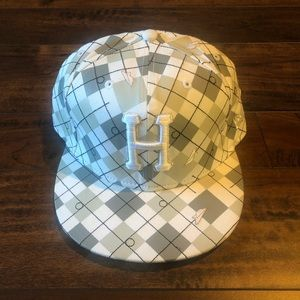 Huf & Benny gold fitted 7 5/8
